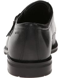 Ecco Black Faro Buckle - Lyst