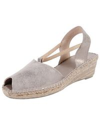 Andre Assous Silver Dainty - Lyst