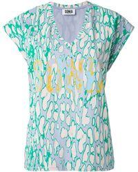 Sonia by Sonia Rykiel Sonia Print T-Shirt - Lyst