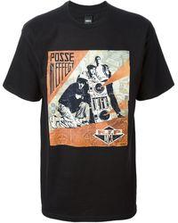 Obey Rip Mca T-shirt - Lyst