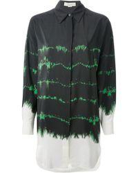 Stella McCartney Tiedye Print Long Shirt - Lyst