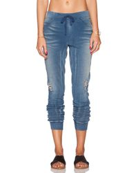 Pam & Gela French Terry Pant - Lyst