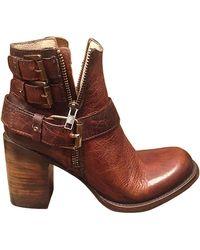 Freebird by Steven - Bolo High-Heel Boots - Lyst