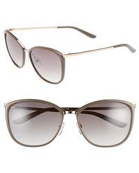 Max Mara Women'S 'Classy I/S' 58Mm Retro Sunglasses - Gold/ Copper/ Mud - Lyst