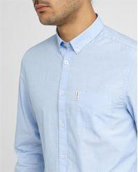 Ben Sherman Sky-blue End-on-end Cloth Shirt blue - Lyst