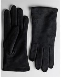 Lord & Taylor - Suede Gloves - Lyst