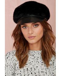 Nasty Gal Eugenia Kim Therese Hat - Black - Lyst