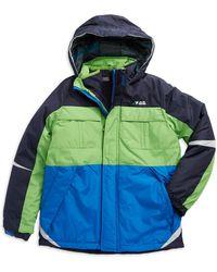 London Fog - Boys 8-20 Zip Up Ski Jacket - Lyst