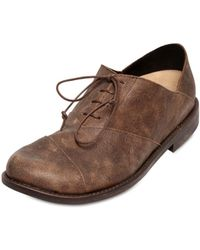 Peter Non Distressed Leather Oxford Lace-Up Shoes - Lyst