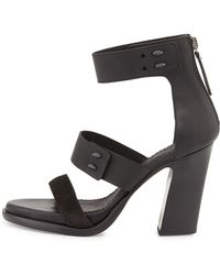 Rag & Bone Starlin Leather Stud Sandal - Lyst