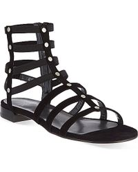 Stuart Weitzman Caeser Gladiator Sandals - For Women - Lyst
