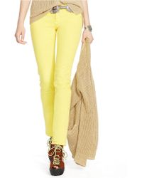 Polo Ralph Lauren Tompkins Cropped Skinny Jeans - Lyst