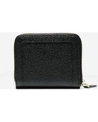 Cole Haan | black Eva Small Zip Wallet | Lyst