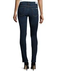 Hudson Shine Skinny Jeans - Lyst