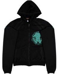 Roberto Cavalli - Cotton Fleece Hoodie - Lyst