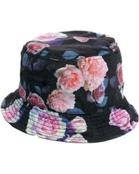 Asos Bucket Hat with Floral Print - Lyst
