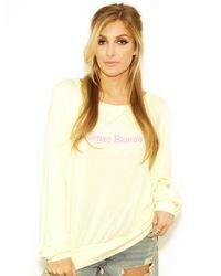 Wildfox Smart Blonde Bbj In Blonde yellow - Lyst