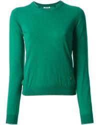 Kenzo Glitter Trim Sweater - Lyst