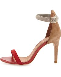 Joie Roxie Colorblock Dorsay Sandal - Lyst