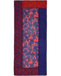Diane von Furstenberg New Boomerang Poppy Leopard Scarf - Lyst