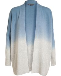 Vince Dip Dyed Wool-cashmere Cardigan - Lyst