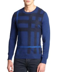 Burberry Brit Royston Check Sweater - Lyst