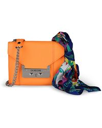 Love Moschino Small Fabric Bag - Lyst
