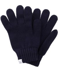 Norse Projects | Norse Gloves In Navy | Lyst