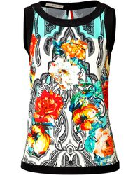 Etro Printed Shell - Lyst