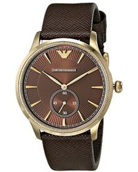 Emporio Armani Gold watches - Lyst