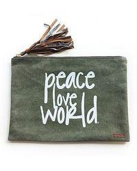 Peace Love World - Holly Clutch - Lyst