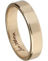 Sam Edelman Rhodium Plated Midi Ring - Lyst