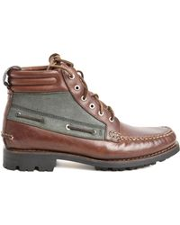 Rag & Bone By Timberland Boat Chukka In Brown brown - Lyst
