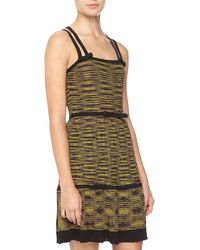 M Missoni Crisscross Bowdetailed Dress - Lyst