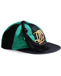 Olympia Le-Tan Hat black - Lyst