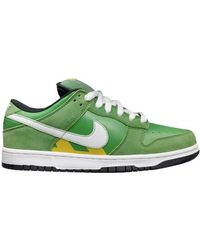 "Nike Sb Dunk Low Pro ""Tokyo Taxi"" green - Lyst"