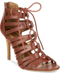 Rampage Katapa Dress Sandals brown - Lyst