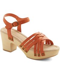 Restricted Footwear High Noon Tea Heel - Lyst