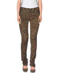 Love Moschino | Casual Pants | Lyst