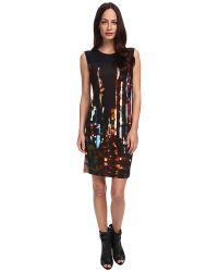 McQ by Alexander McQueen Blurry Lights-Vo Volume Dress - Lyst