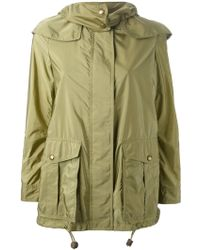 Burberry Brit Classic Parka - Lyst