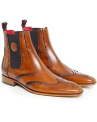 Jeffery West | Suede Scarface Chelsea Boots | Lyst
