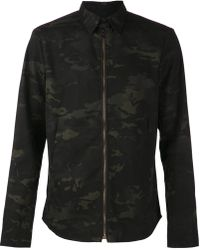 Rag & Bone Black Print Jacket - Lyst