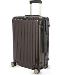 Rimowa - Salsa Four-wheel Spinner Suitcase 81cm, Granite Brown - Lyst