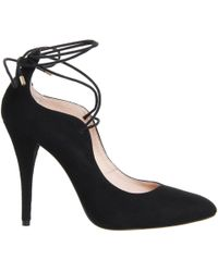 Office | Tooting Lace Tie Court Heels | Lyst