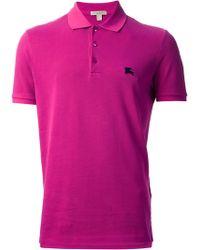 Burberry Brit Classic Polo Shirt - Lyst