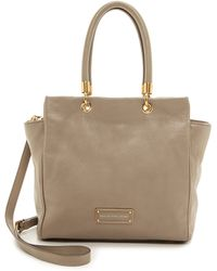 Marc By Marc Jacobs Too Hot To Handle Bentley Satchel - Cement - Lyst