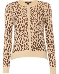 Therapy | Leopard Print Cardigan | Lyst