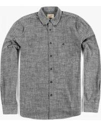 Nudie Jeans Stanley Shirt black - Lyst