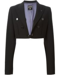 Jean Paul Gaultier Bolero Style Blazer - Lyst